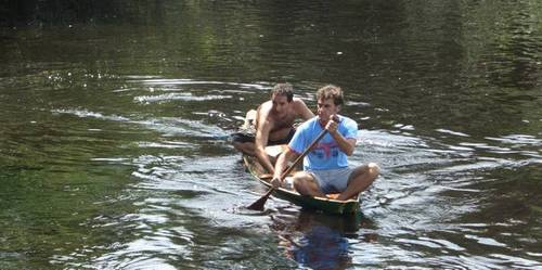 Canoing